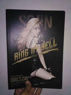 GIRLS DAY RING MY BELL ALBUM SOJIN VER