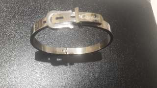 Cartier inspired belt style bangle