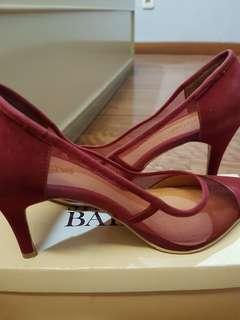 Noche Red Maroon High Heels / Stiletto