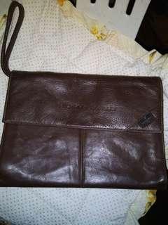 Preloved Valentino Morris clutch bag authentic