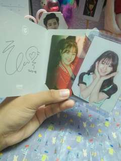 [WTS] TWICW JIHYO PHOTOCARD SET