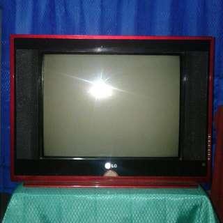 Tv LG 21 Inch Flat Layar Datar Gambar Suara Baik