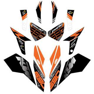 KTM DUKE 690 DECAL STICKER