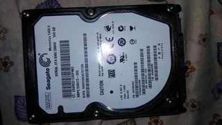 Seagate 500gb 5400.6 Laptop HDD