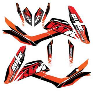 KTM DUKE DECAL STICKER