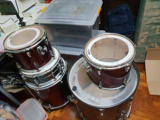 5 piece Tama imperial star