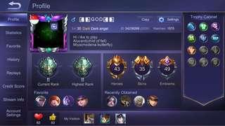 Mobile Legend Account