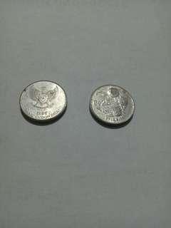 Uang coin 25 rupiah