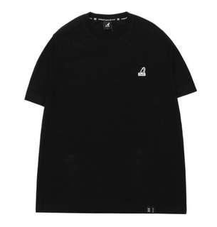 Kangol basic logo t-shirt 黑/白/灰/粉