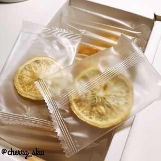 獨立包裝凍乾檸檬片$1/片