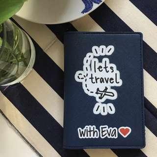 🚚 CUSTOM PASSPORT HOLDER lets travel