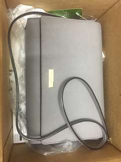 Kate Spade 袋 TILDEN PLACE ALEK COLOR: CLIFF GREY STYLE #: WKRU4642
