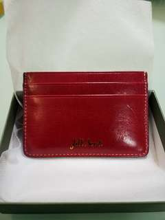 Jill Scott Card Holder Burgundy