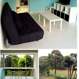 S$650/470 room rental with aircon all inclusive at Japanese Garden 好房出租!