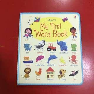 Usborne My First Word Book