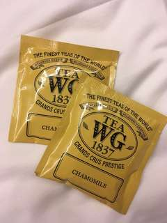 [包郵] 2 pcs Tea WG 1837 Chamomile Tea Bag