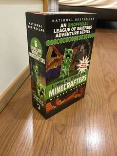 Minecraft books by Winter Morgan