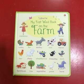 Usborne My First Word Book - ON THE FARM