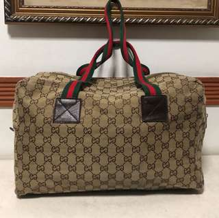 Gucci Inspired Traveling Bag
