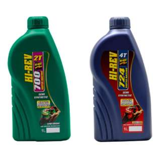 HIREV 2T 700 & 4T 724 OIL - SEMI SYNTHETIC