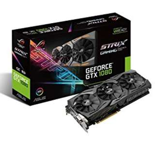 NEW Asus GTX 1080 Strix