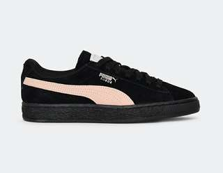 🚚 Puma suede classic black and pink 黑粉