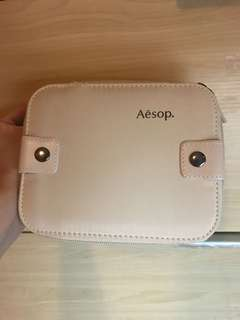 100% new! Aesop x Cathay Pacific makeup bag 化妝品