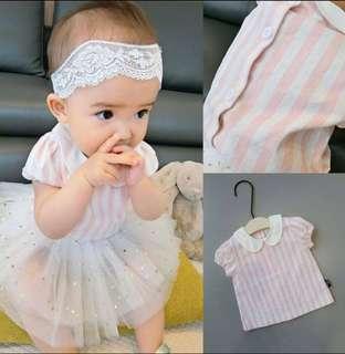🚚 粉紅條紋襯衫
