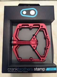 crankbrothers Stamp Pedals - Large for MTB bike bicycle