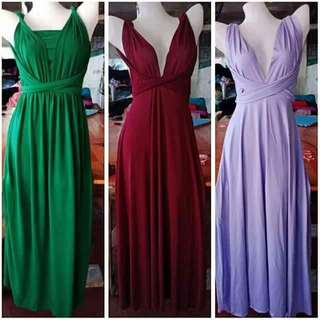 FLOORLENGTH INFINITY DRESS 350