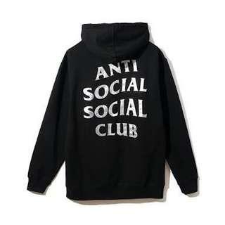 Anti Social Social Club Sin City Black Hood