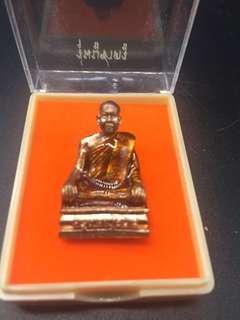 Thai Amulets Kruba Krissana roop lor with Kruba 's hair