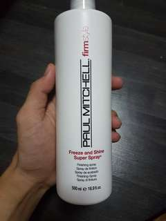 Paul Mitchell FirmStyle Freeze and shine Super spray