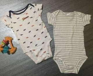 Carter's Baby Rompers 6-12m
