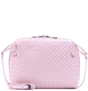 歐洲預訂 BV Bottega Veneta leather crossbody bag
