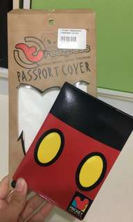 Mickey Mouse passport holder