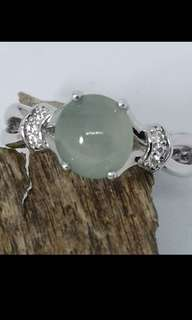 Type A Fei Cui - Icy Jadeite Ring