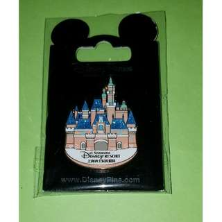 Shanghai Disney Pin 上海 迪士尼 城堡 襟章 徽章