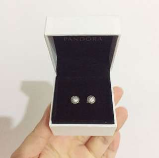 Pandora Dazzling Droplets Earring Studs