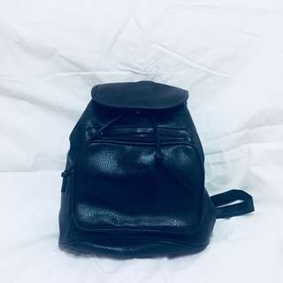 Small Backpack Leather