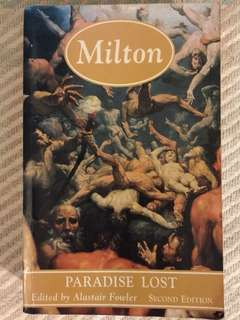 "John Milton's ""Paradise Lost"" edited by Alastair Fowler"