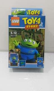 Toy Story 三眼仔 公仔全新未開封