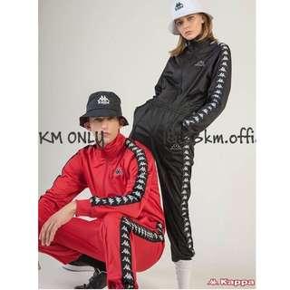 🚚 23公里 Kappa 222 Banda GD 串標 運動套裝 限量 黑 紅 白 藍 黃  運動外套 縮口 拉鍊 運動褲