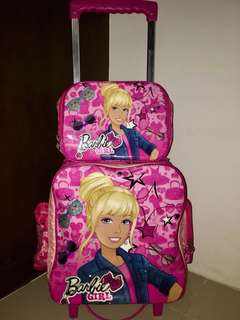 "Barbie trolley school bag ""repriced"""