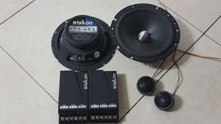 Epsilon 6.5 2way component set speaker