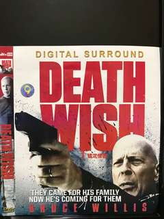 🚚 DVD English movie, Death Wish