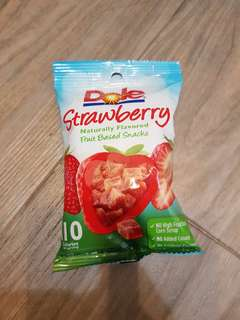 Dole dried Strawberry 兒童健康零食