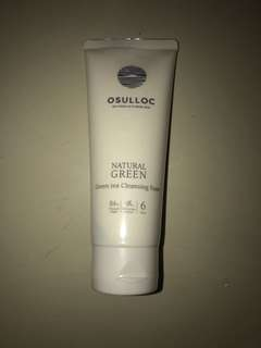 NATURAL GREENTEA CLEANSING FOAM OSULLOC