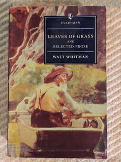"""""""Leaves of Grass and Selected Prose"""" by Walt Whitman"""