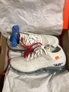 US6 Off-white x Nike vapormax